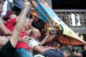 All in 90 seconds: The palio