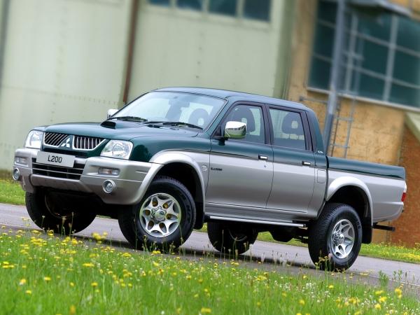 Mitsubishi L200 pick-up 4x4 fino al 2006